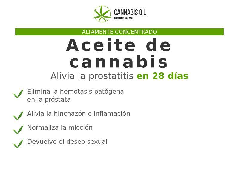 Cannabis Oil ES (prostatitis)