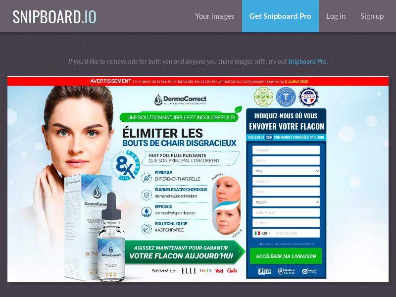 36765 - FR - Nutra - Skin - Derma Correct - CPS