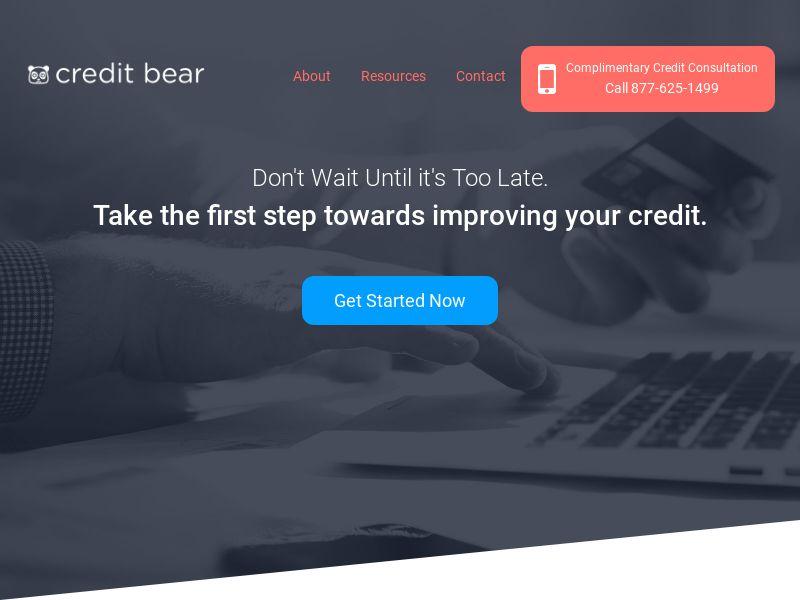 Credit Repair - Credit Bear US | Pay Per Call Exclusive (PRIVATE TO ARUN)