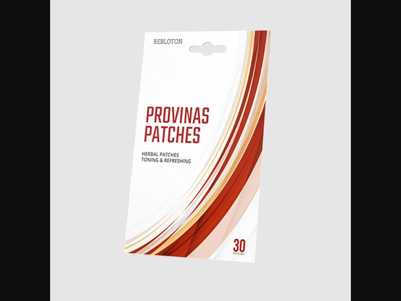 PROVINAS PATCHES - blood pressure – FI – CPA – patches - COD / SS - new creative available