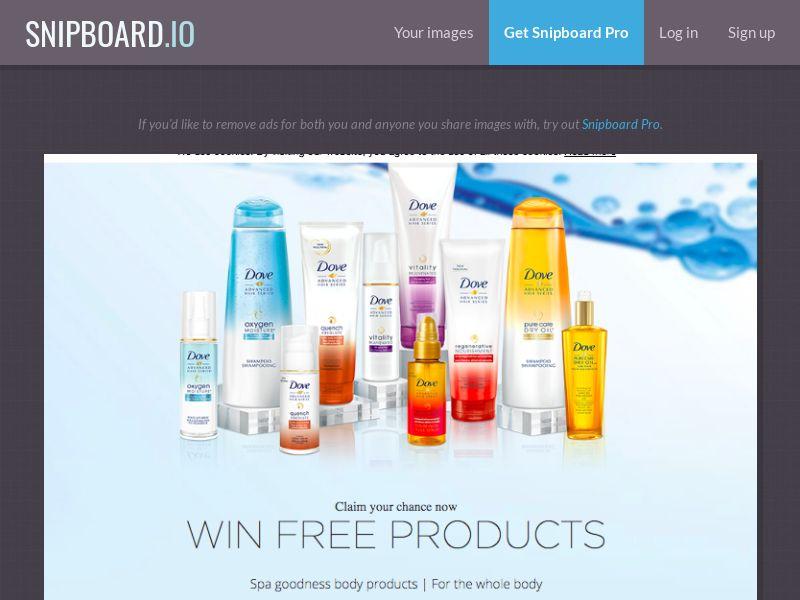 LeadMarket - Dove Cosmetics UK - SOI