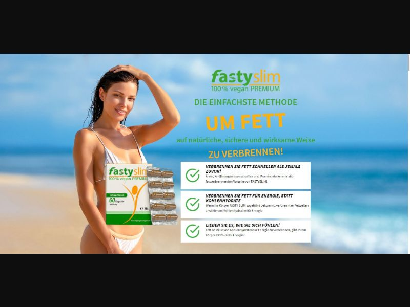 FastySlim - V1 - Diet & Weight Loss - SS - [DE, AT, CH]