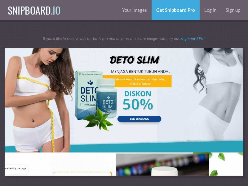 37564 - ID - Nutra - Diet Products - Detoslim - COD