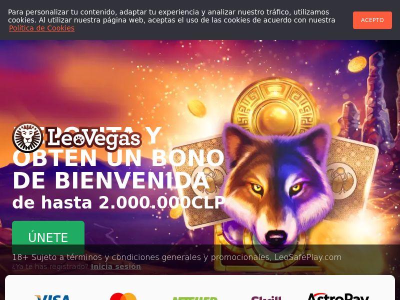 Leo Vegas - Casino - LATAM-BR, PE, CL - (CPA)