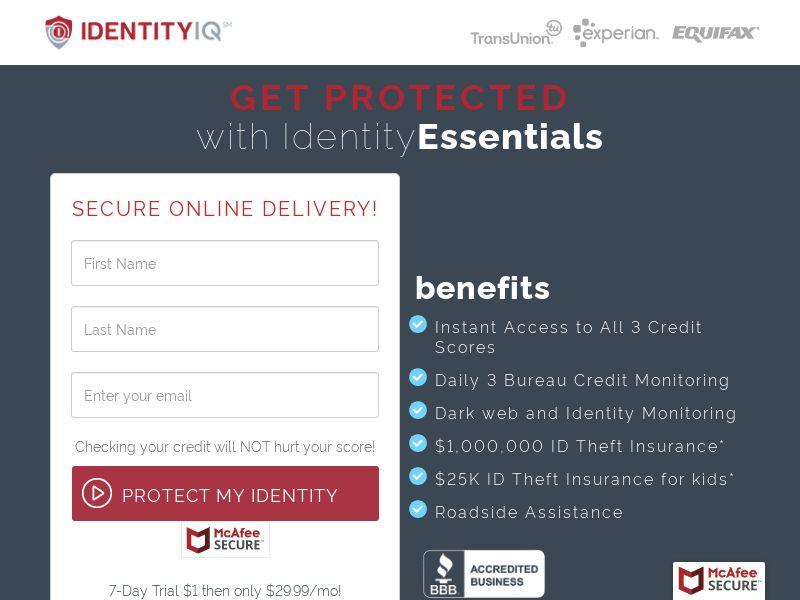 Identity IQ / Identity Essentials