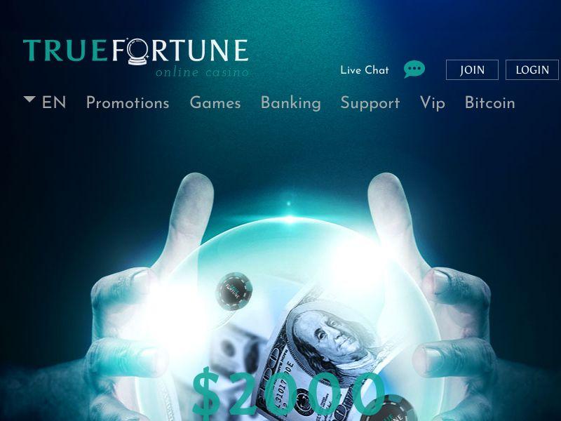 TrueFortune.com Casino CPA UK, DE, SE & FI
