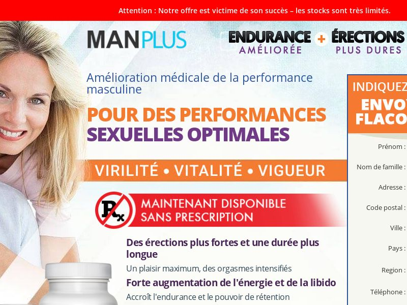 ManPlus SS - FR