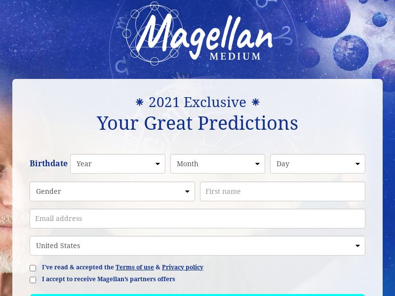 US - MAGELLAN - CPL - SOI - *WEB/WAP*Emailing only*