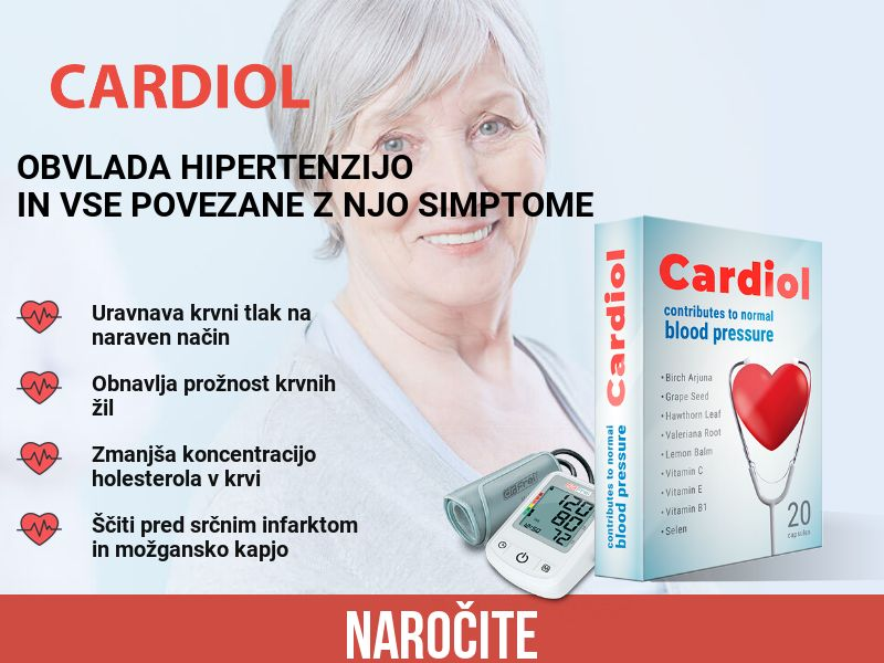 Cardiol SI - pressure stabilizing product