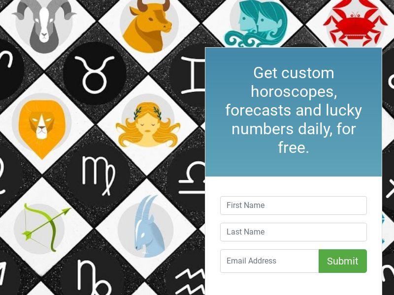 Free Horoscopes Email Newsletter Opt-Ins