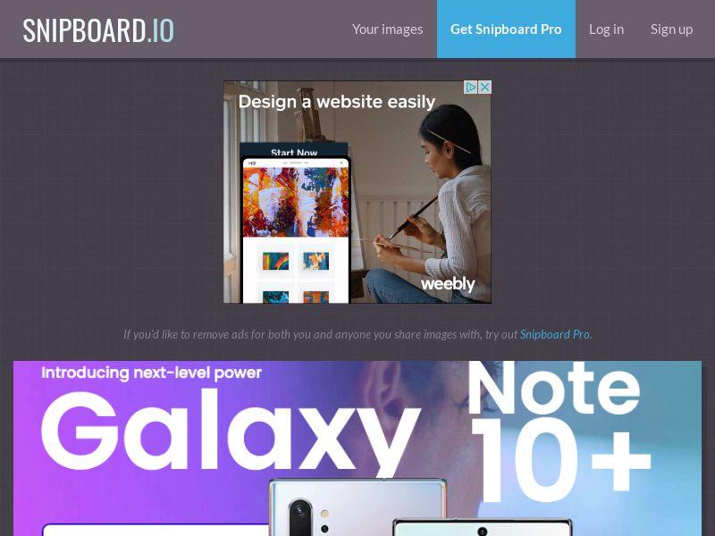 SteadyBusiness - Samsung Note 10+ LP33 NZ - CC Submit