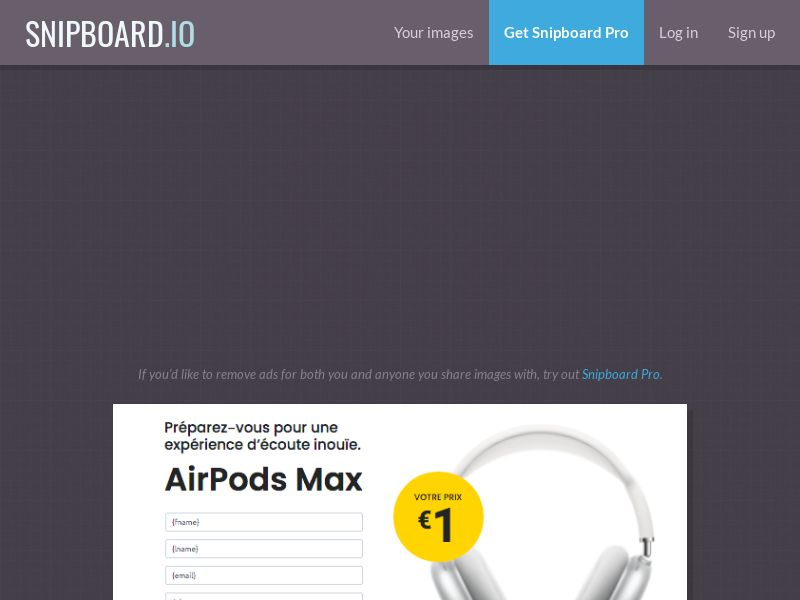 MyeBooky - AirPods Max LP39 FR - CC Submit