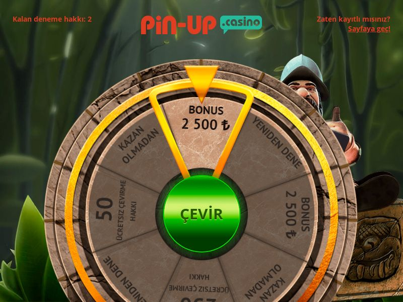 Pin-Up - Casino - Wheel - TR
