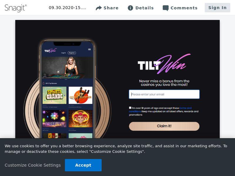 TiltWIN - SOI | UK