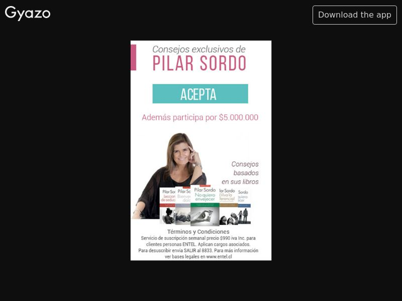 Consejos Pilar Sordo (CL)