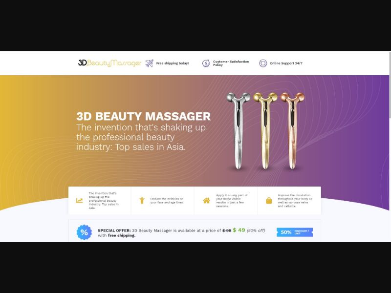 3D Beauty Massager - Beauty - SS - [143 GEOs]