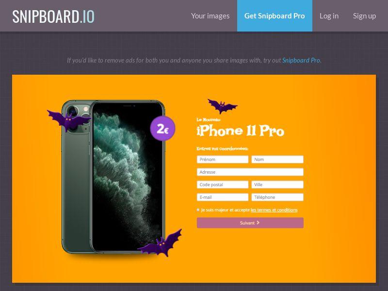 BigEntry - iPhone 11 Pro v3 (Halloween) FR - CC Submit