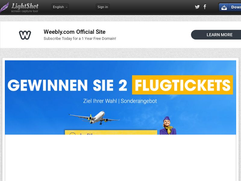 DE - Win Lufthanza Tickets- SOI - CPL