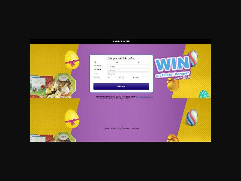 Win a $500 Easter Hamper (NZ)