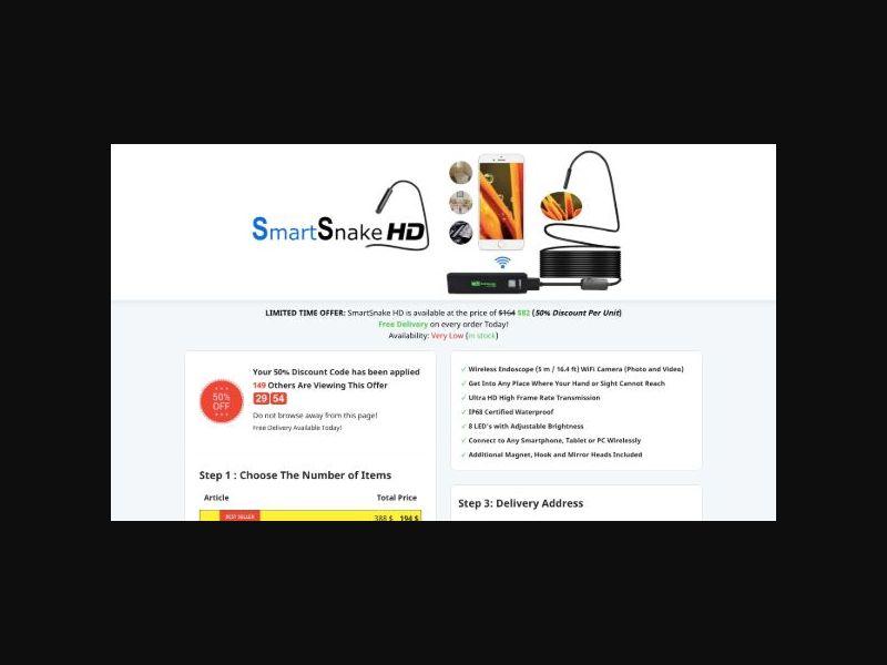 SmartSnake HD