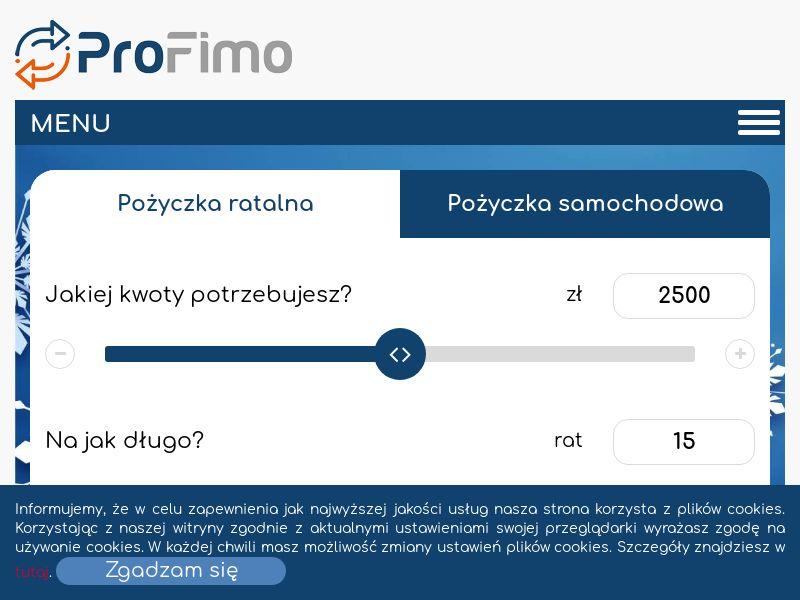 Profimo - PL (PL), [CPA], Business, Loans, Long term loans, Loan Approval, loan, money, credit