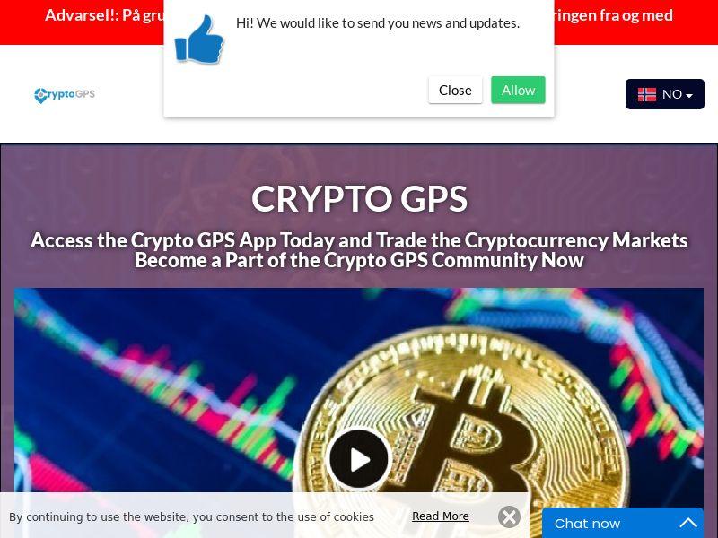 Crypto GPS Norwegian 4111