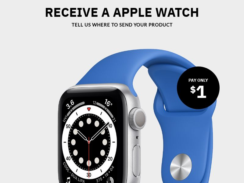 Win an Apple Watch - CC Submit   AU