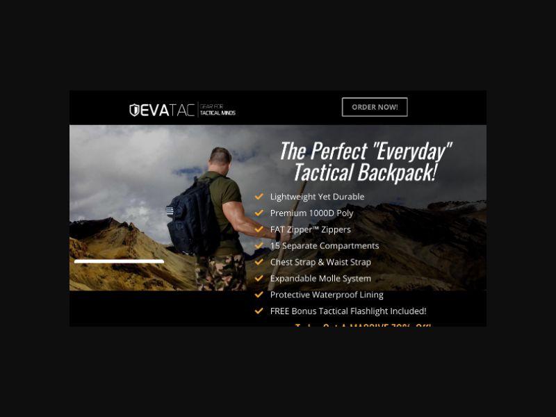 Evatac Assault Bag (US)