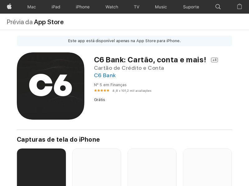 C6 Bank IOS BR