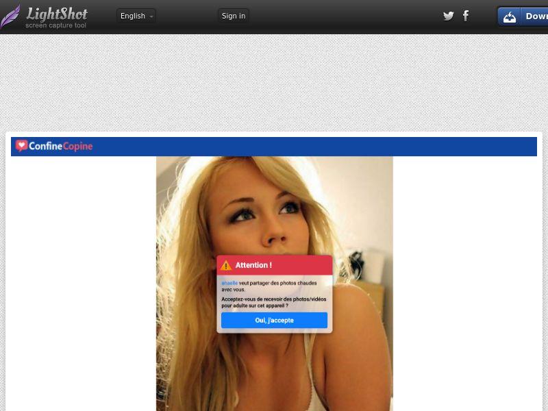 WEB/MOB Confine Copine CPL SOI / FR