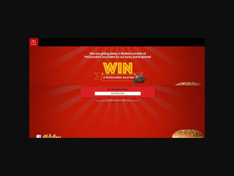 Win a McDonald's Voucher (AU)