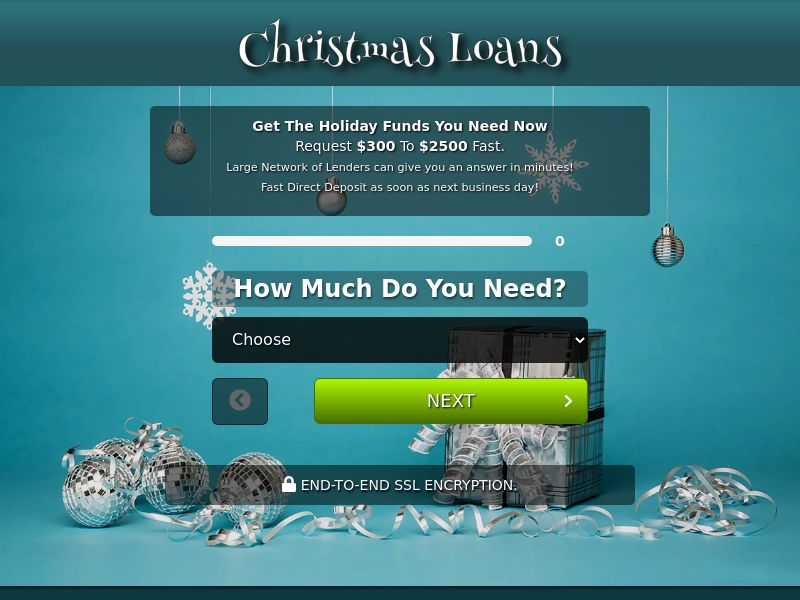 Christmas Loan Network (CPA) (US) (REVSHARE) (SMS ALLOWED)