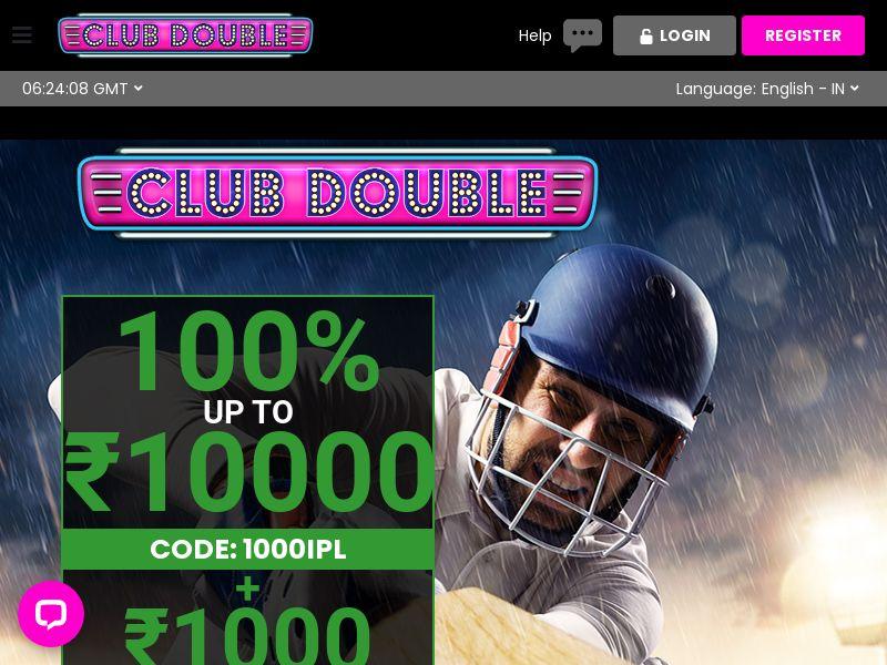 Clubdouble.com Casino CPL - India