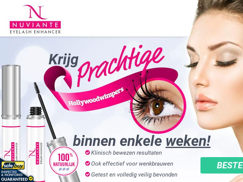 Nuviante: Eyelash Enhancer - DUTCH - (Hair)