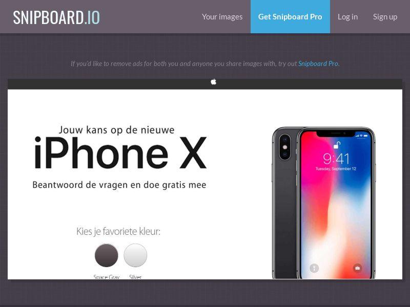 37784 - NL - NectarContests - iPhoneX White (With Prelander) - SOI