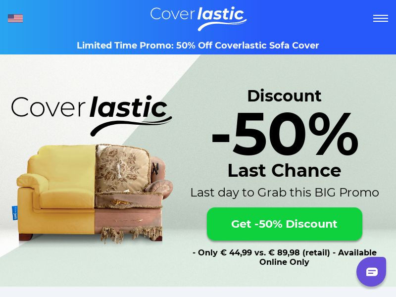 COVERLASTIC - Sofa Covers - CPA - [INTERNATIONAL]