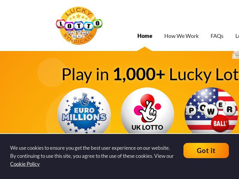 Lucky Lotto Syndicate - UK (GB), [CPA]