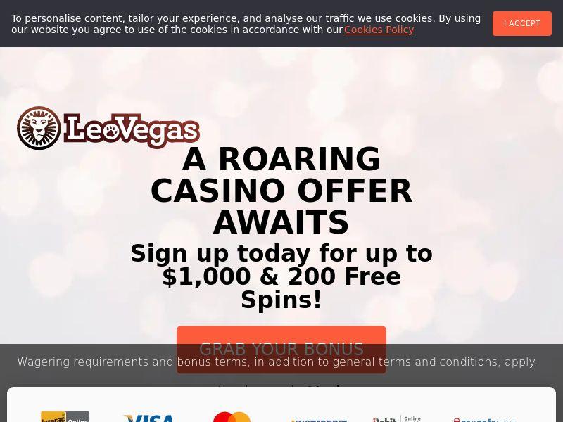 Leo Vegas - Casino - CA, NZ - (CPA)