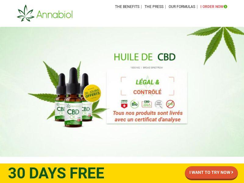 Annabiol CBD Oil (Trial) - FR, BE, LU