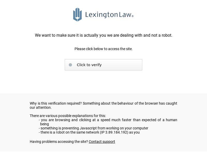 Lexington Law (2020)