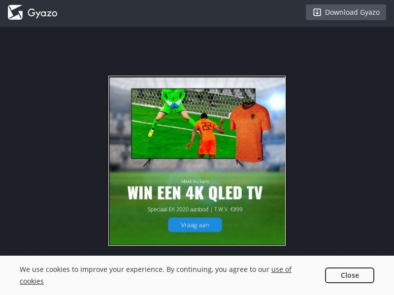EURO 2020 - Win 4K QLED TV (NL) (CPL)