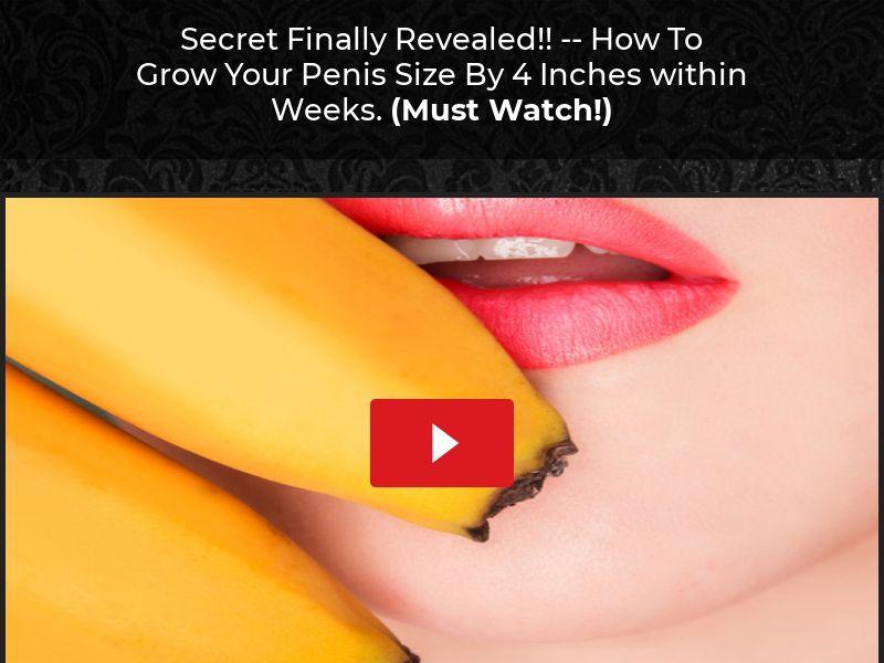 Huge Male Secrets - VSL Straight Sale - US
