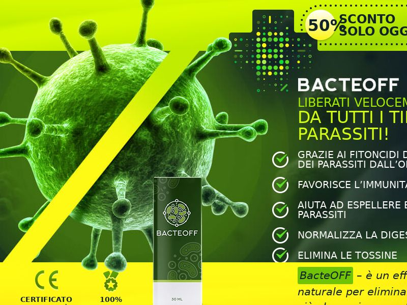BacteOFF IT - anti-parasite product