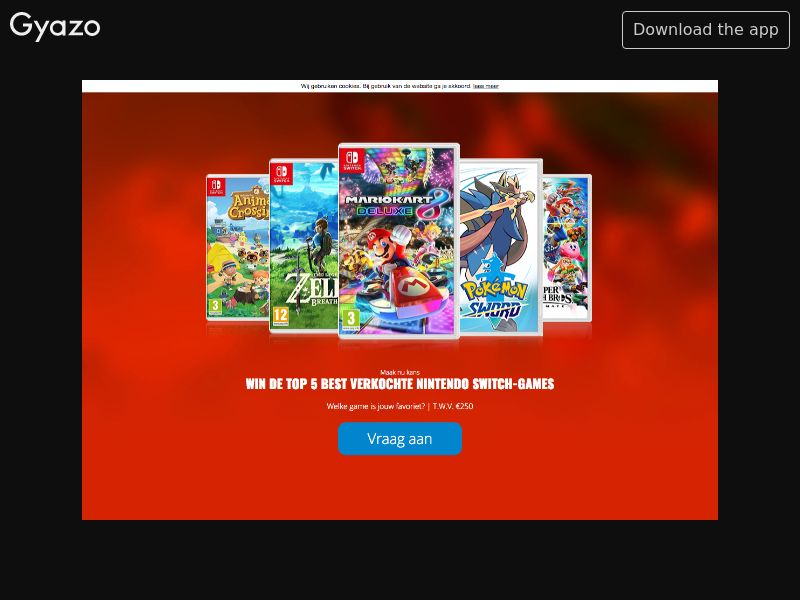 Nintendo Switch games - INCENT - NL