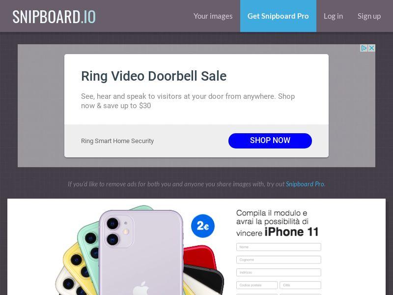 BigEntry - iPhone 11 v1 IT - CC Submit