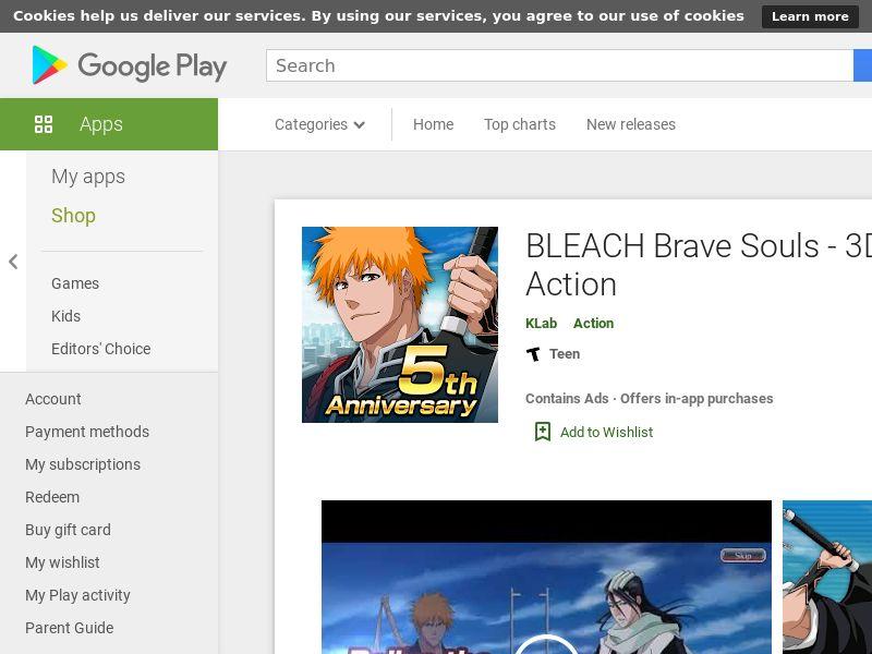 BLEACH Brave Souls - 3D Action Android KR (hard KPI)