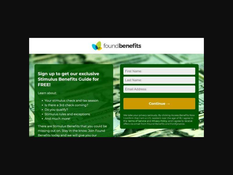 Stimulus Benefits - 1st page submit (US)
