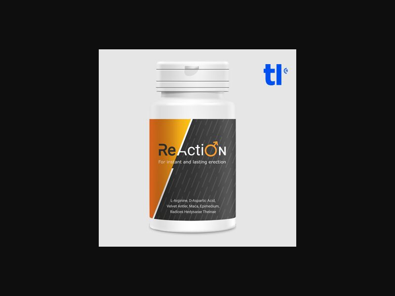 ReAction - Erection Pills - CPA - COD - Adult
