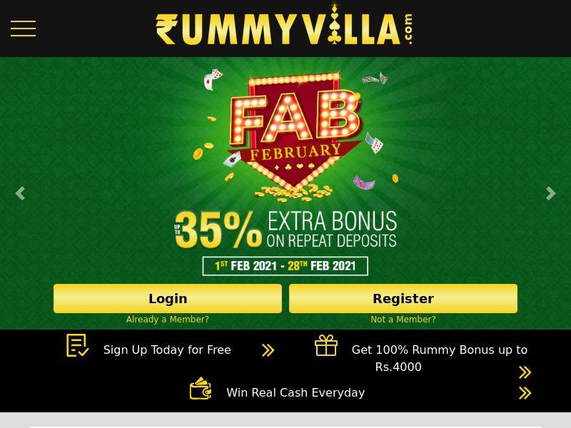 RummyVilla.com CPV - India