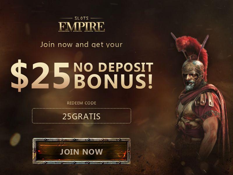 Slots Empire $25 No Deposit Bonus - CA, US, AU